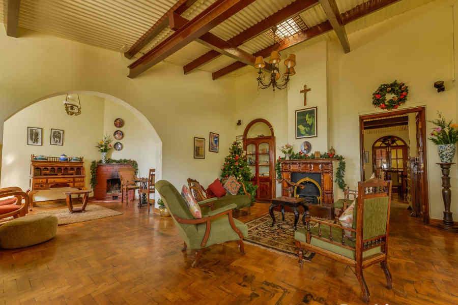 Living room at Holiday Mansion On Tiger Hill Road