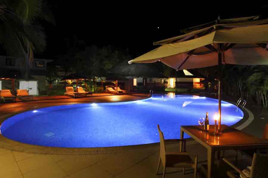 Swimming pool at Malabar Ocean Front Resort