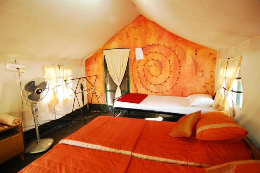 Tent at Banerghatta nature camp