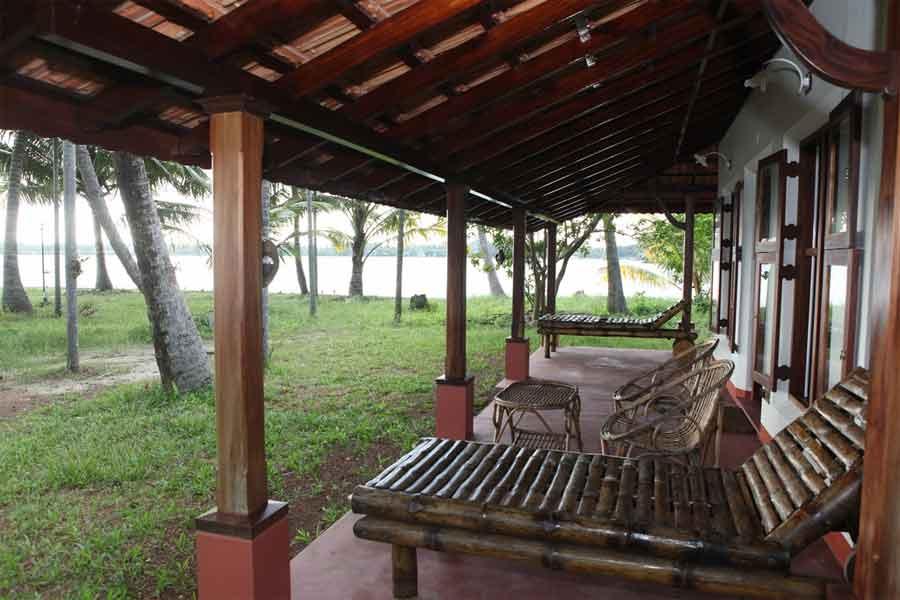 Leisure area at Traditional Homestay Near Neduveli