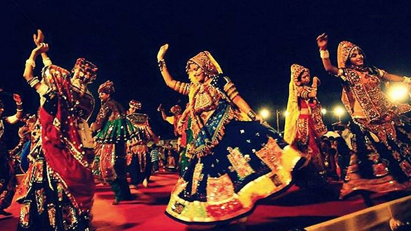 Evening celebrations at Rann Utsav
