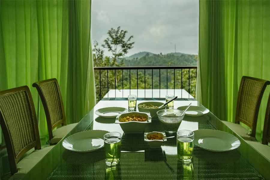 Dining-Room-at-Scenic Homestay at Meppadi