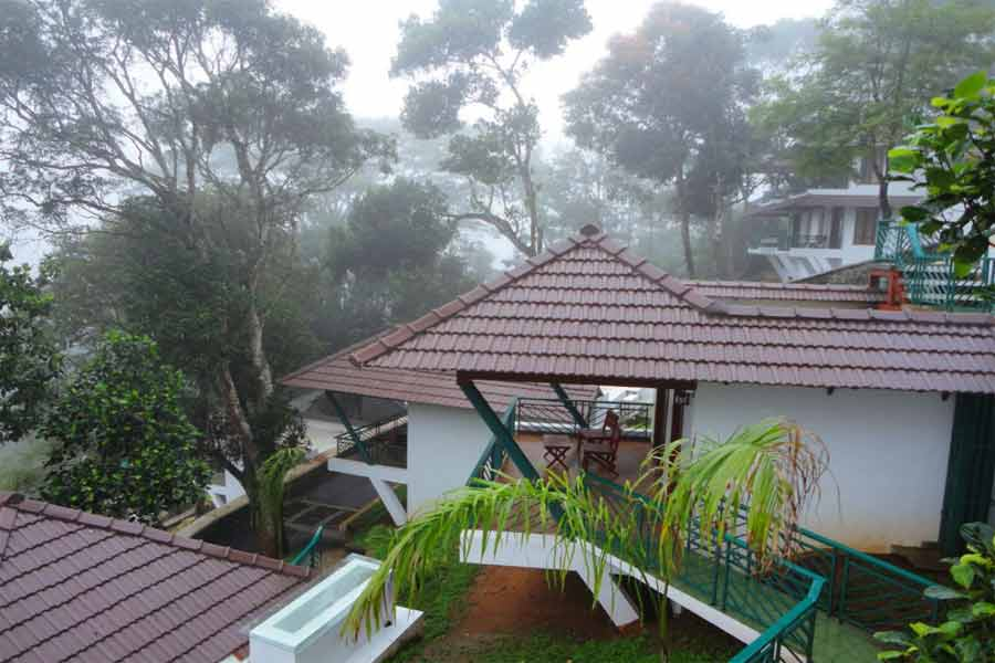 View of Premium Resort Near Periyar Sanctuary