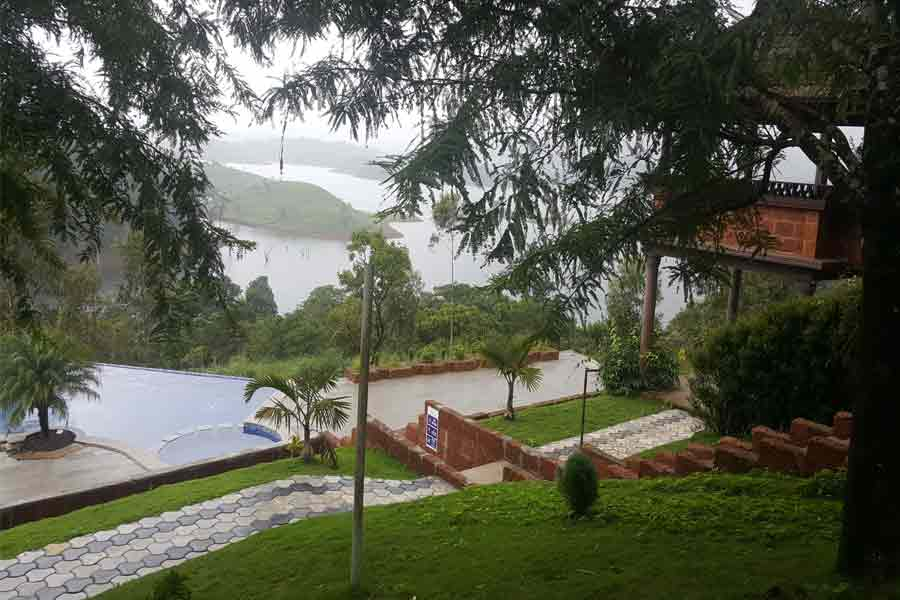 Beautiful view from Resort Stay at Scenic Island in Varambetta, Wayanad