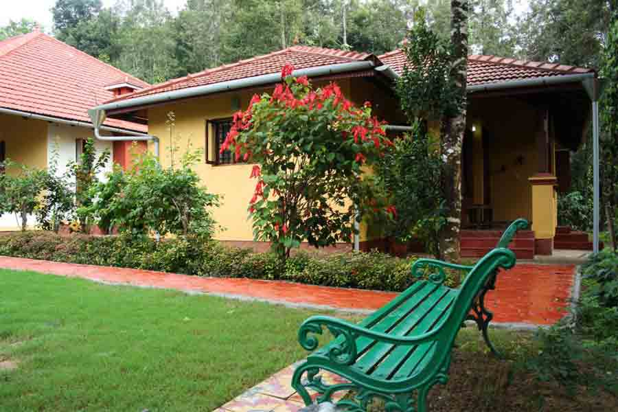 View of the Boutique Homestay at Madikeri in Coorg