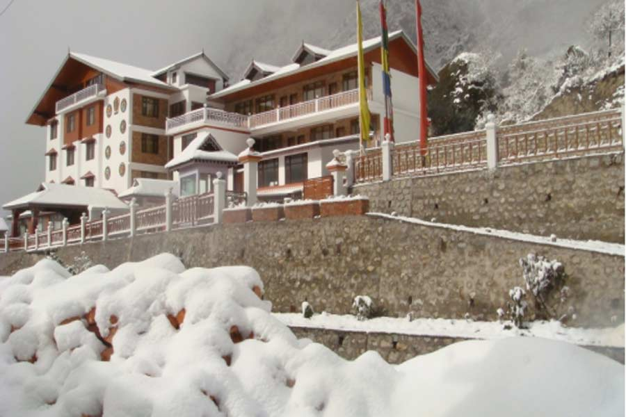outside view at Contemporary Resort Stay at Lachung