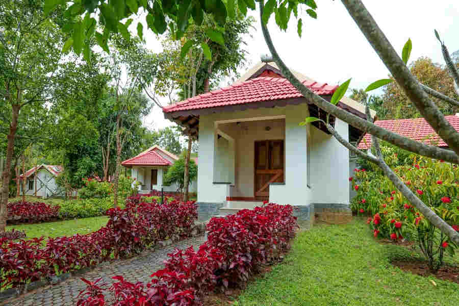 Deluxe Cottage at Riverside Resort at Kodagu