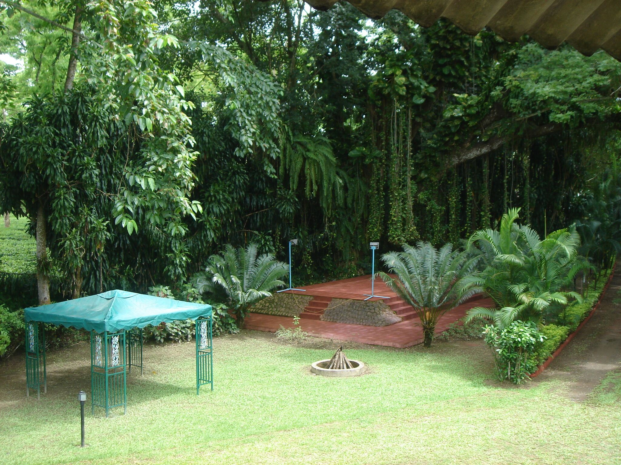 Garden at Estate Bungalow at Jalan Nagar