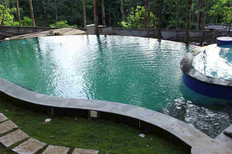 Swimmingpool at Resort NearShervarayan Temple