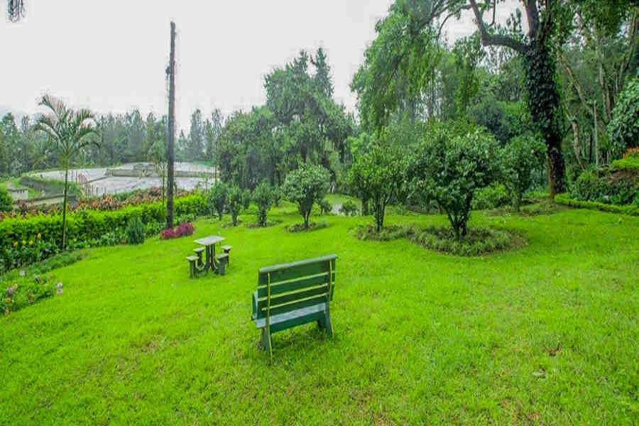 Garden at Sprawling Estate Bungalow at Kaimara