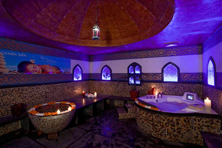 Spa at the Upscale Heritage Hotel At Kohefiza