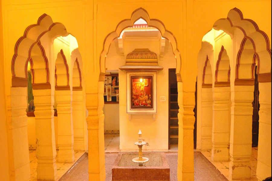 Entrance of Heritage Haveli At Sirsi Village
