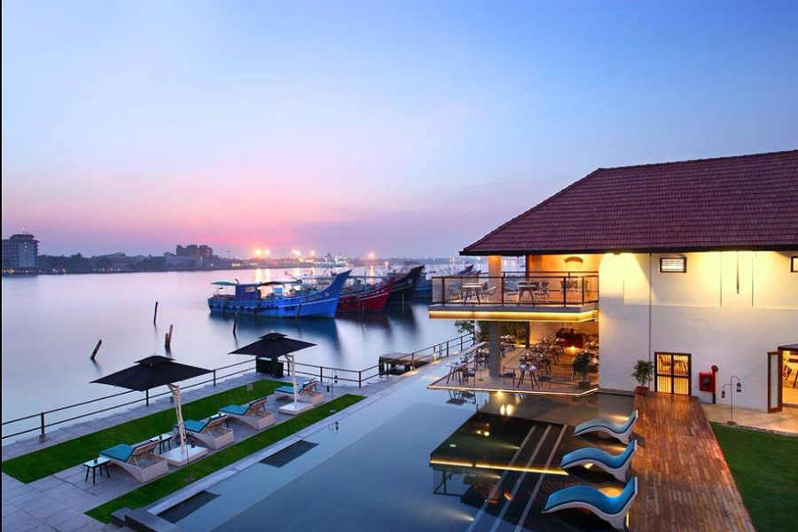 Swimming Pool at the Waterfront Stay at Fort Kochi