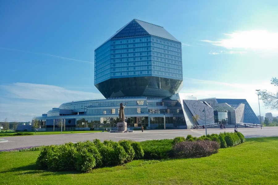 National Library of Belarus Minsk