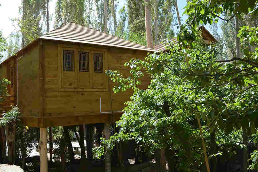 Tree House at at Luxury Resort At Skara