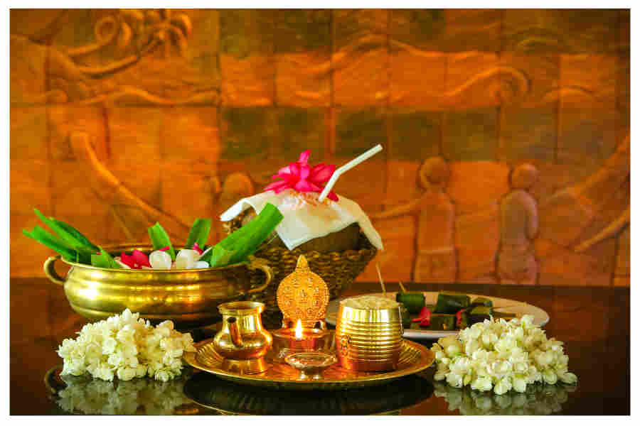 Welcome Kit with Tender Coconut _ Garland at the Serene Beach Resort In Mararikulam