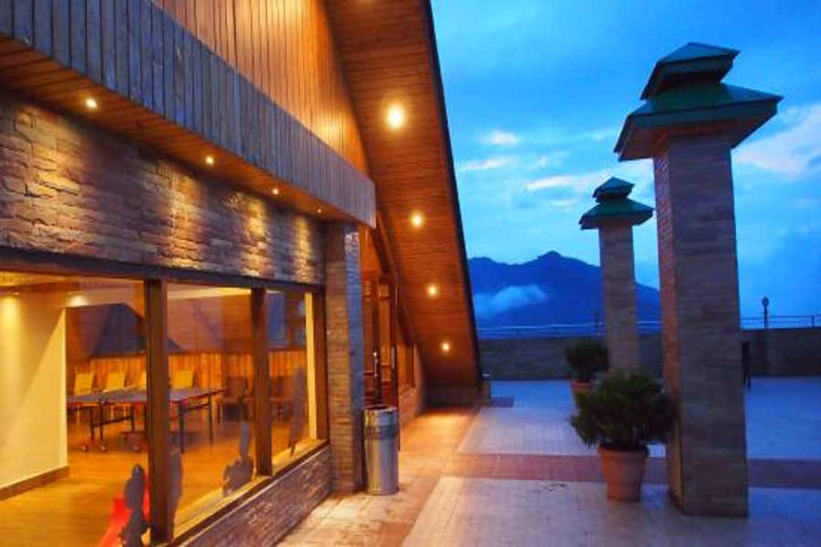 Rooftop ar the Tranquil Resort And Spa At Namchi Sikkim