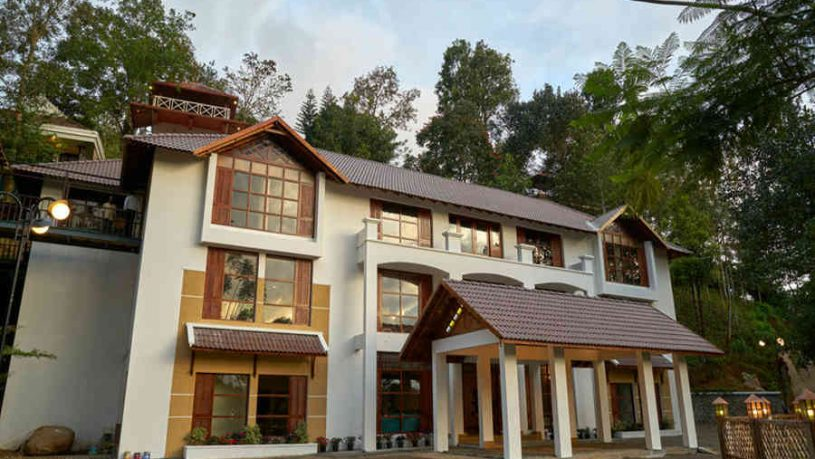 Exterior of the Exquisite Hideaway In Munnar