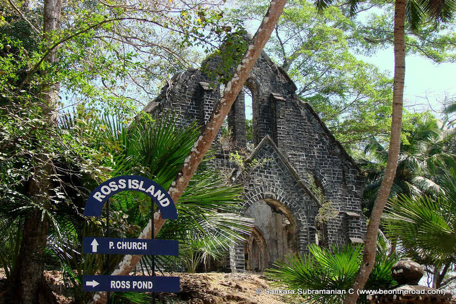 Presbyterian Church at Ross Island-Andaman