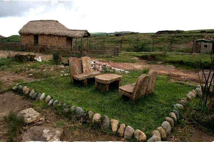 Sit out at the Serene Stay In Cherrapunjee