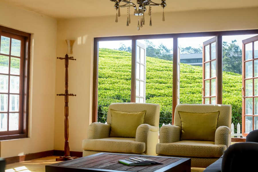 Sitting Room at the Cozy Homestay In Nuwara Eliya