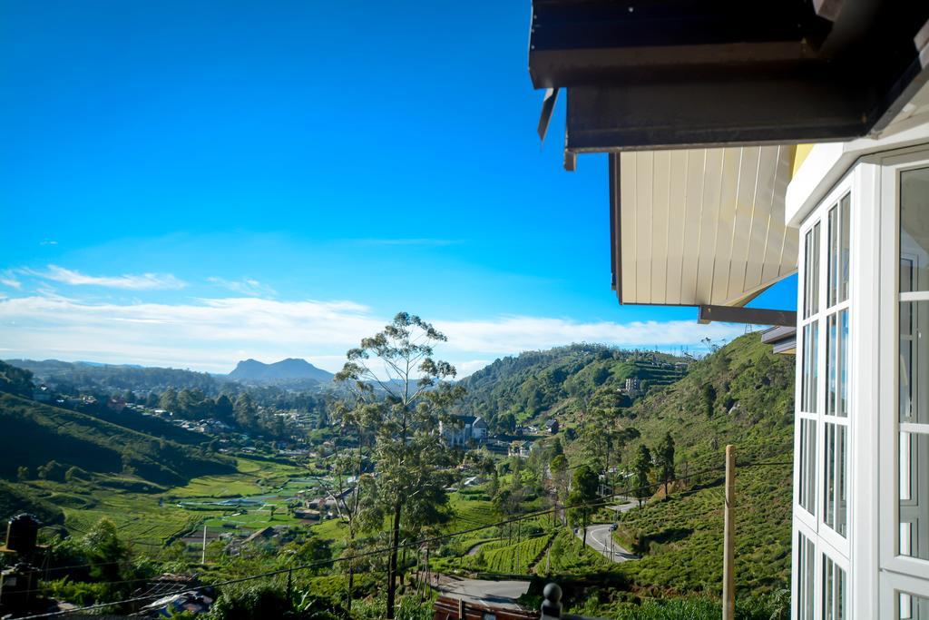 View from the Luxury Villas In Nuwara Eliya