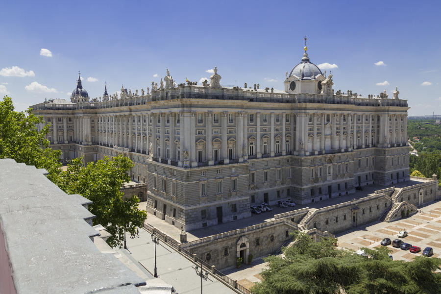 Madrid Palace Royal Architecture Spain City