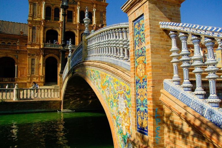 Bridge in Sevilla, Andalusia