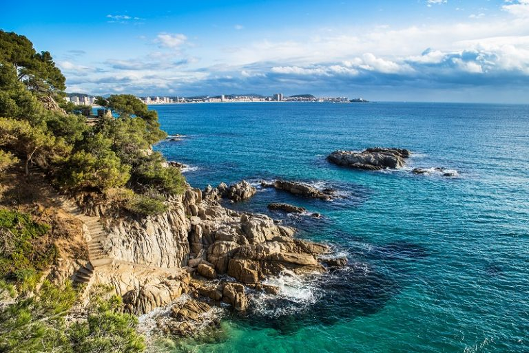 Costa Brava Beach View