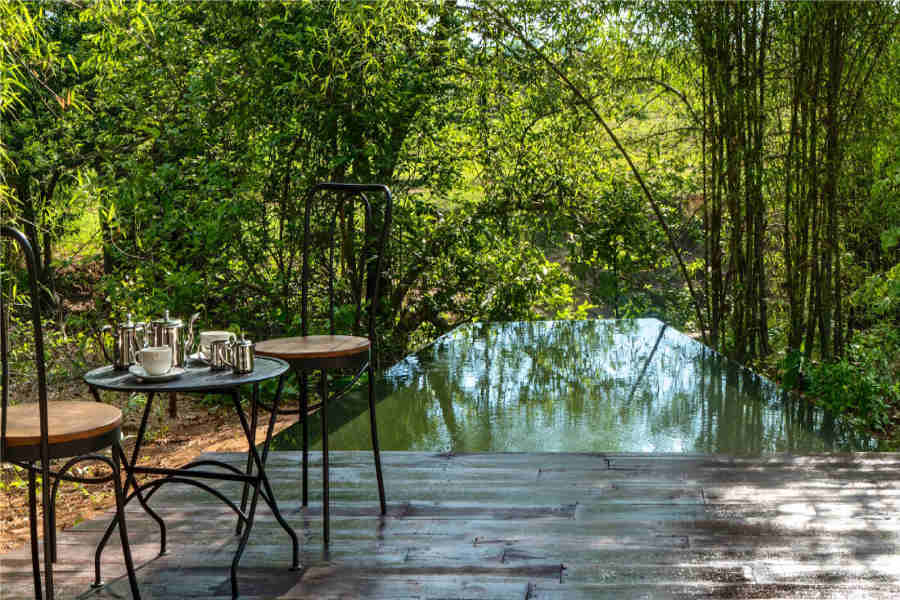 Outdoors at the Eco-Friendly Resort In Tadoba