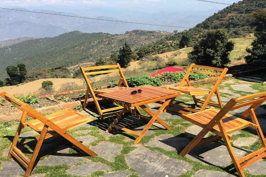 Sit out at Eco-Friendly Stay Near Dehradun