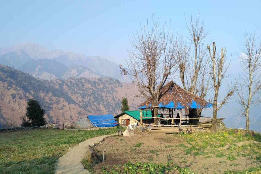 Sit out at the Serene Stay at Raithal In Uttarakhand