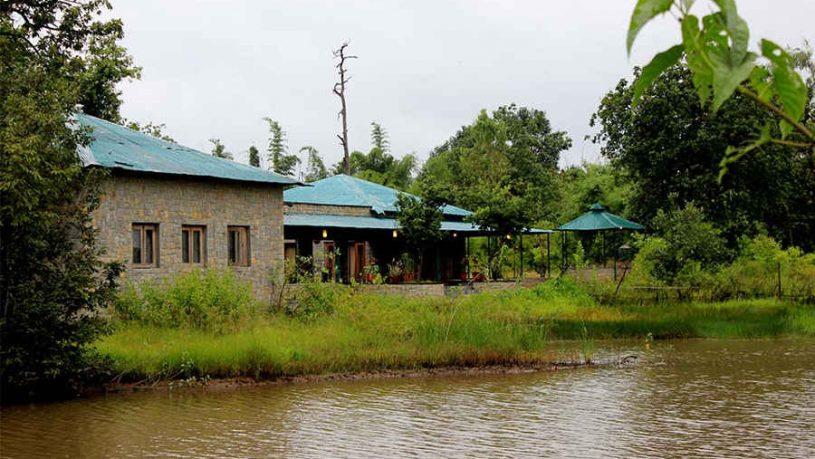 Reception-at-Jungle Retreat In Bandhavgarh