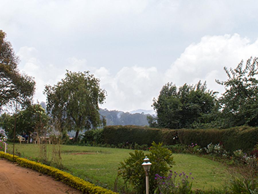 Scenery around British Style Bungalow at Attadi