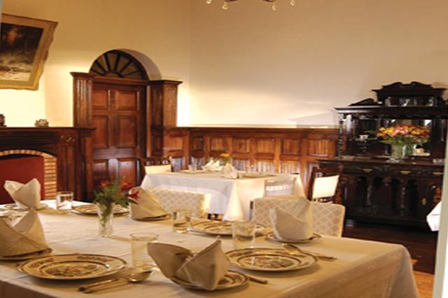 Restaurant at British Style Mansion On Havelock Road