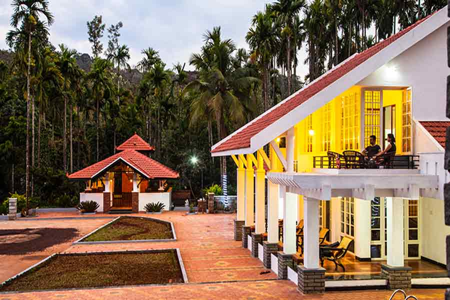 Outdoor view of Serene Homestay Amidst Plantation Estate