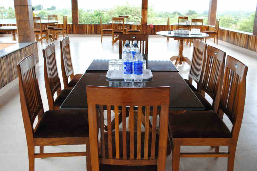 Dining at the Hampi Heritage and Wilderness Resort