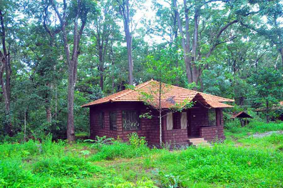 Exterior view at Eco-friendly Homestay At Dandeli