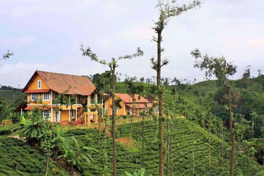 View of Kerala Style Resort at Chellangode,Wayanad