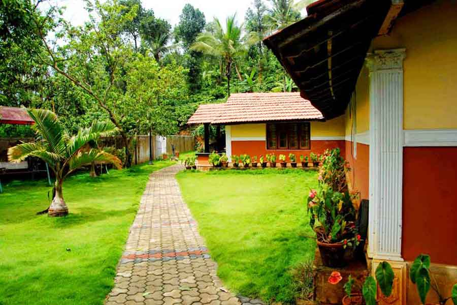 View of Traditional Style Homestay at Chellangode,Wayanad