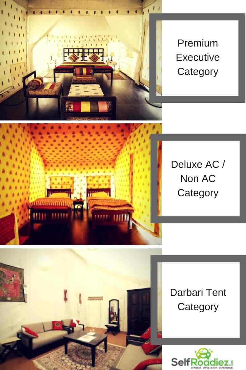 Stay-options-at-Rann-Utsav,-White-Desert-Carnival-in-India