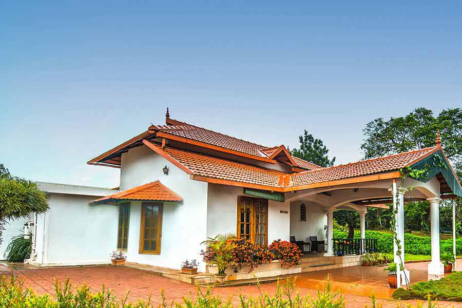 View-of-the-Cozy-Homestay-at-Madikeri,Karnataka