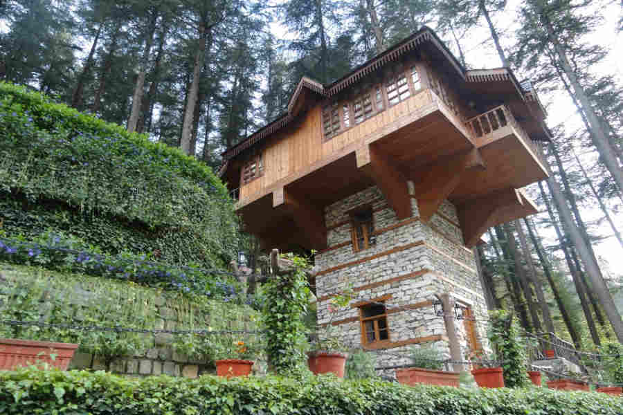 Machhan at the Chic Mountain Resort at Kasol