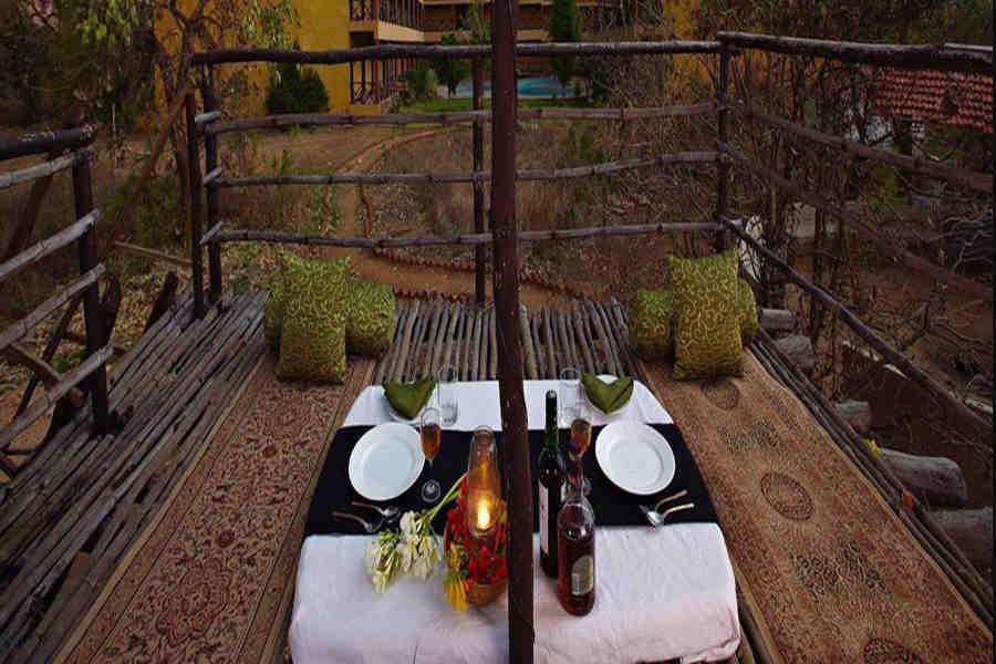 Machan at Jungle Resort Near Turia Gate