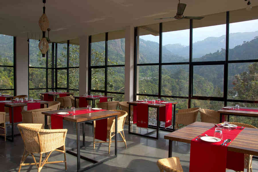 Restaurant in Elegant Resort in Idukki