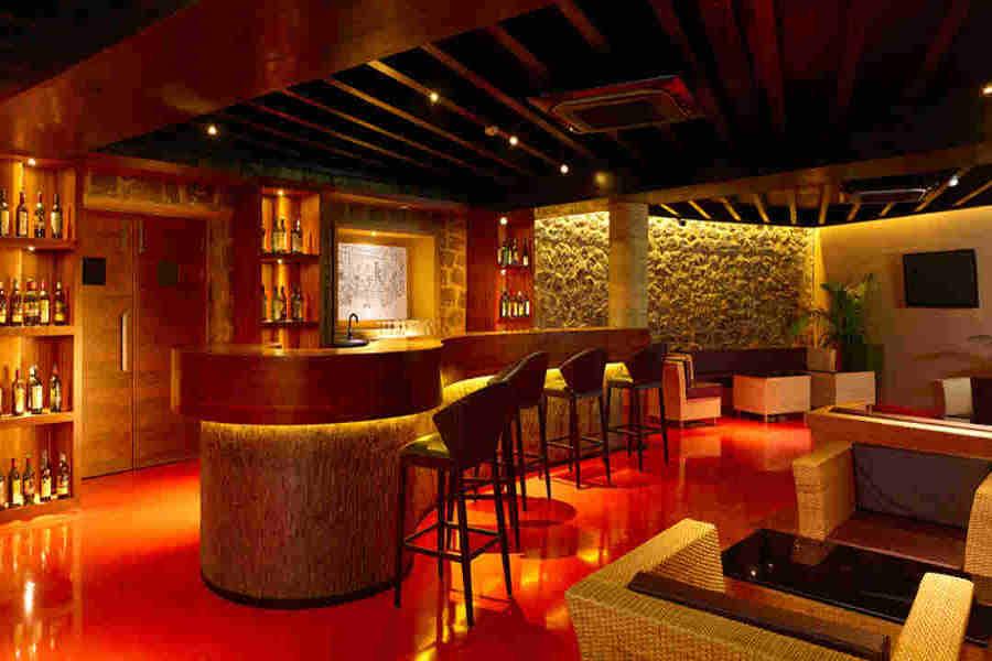 Bar at the Serene Eco-Resort At Kumily