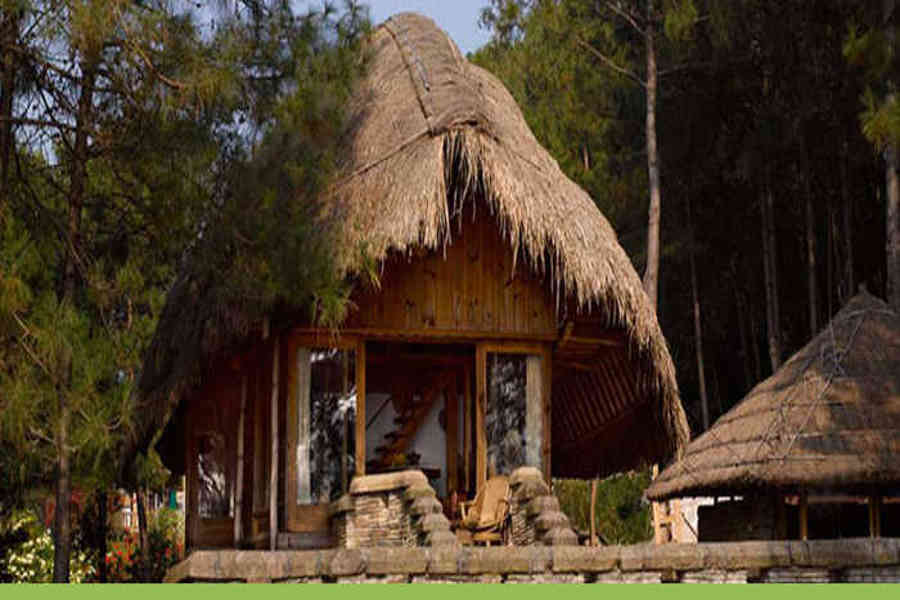 Hybrid cottage at the Scenic Resort At Umiyam Lake