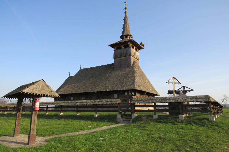 Wooden church Cucuceni Transylvania