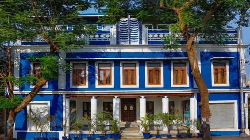 Heritage Boutique Stay In Thanjavur-Facade