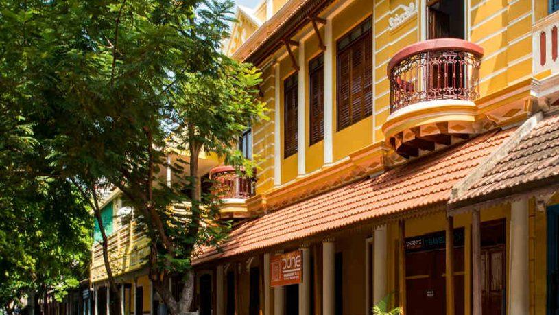 Heritage Tamil Mansion In Puducherry